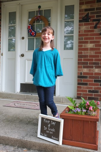First Day of School 2014 (1)